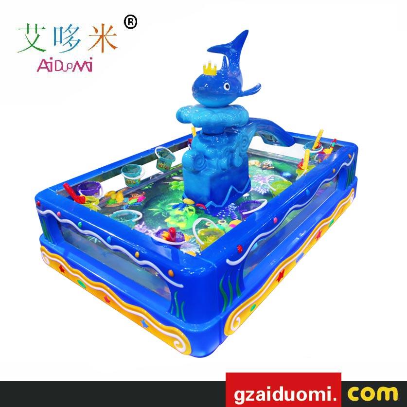 会表演的3D透明鱼池