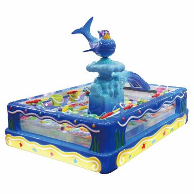 3D trandparent fish pond